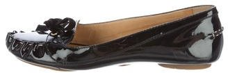 Kate Spade Kate Spade New York Patent Leather Bow-Accented Flats