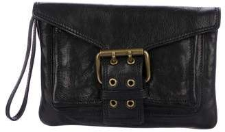 Marc Jacobs Leather Buckle Wristlet