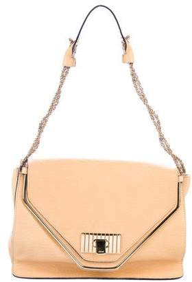 Chloé Leather Double Flap Bag