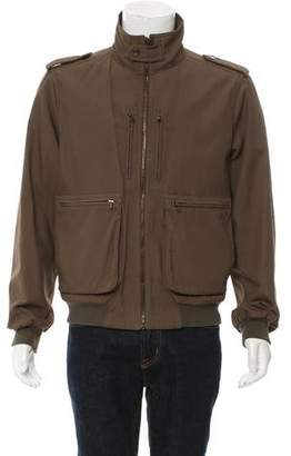 Prada Zip-Up Field Jacket