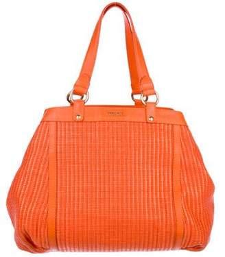 Versace Raffia Shoulder Bag