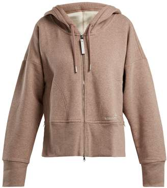 adidas by Stella McCartney Essential zip-front hooded sweatshirt