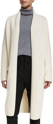 Vince Yak-Wool Oversized Open-Front Cardigan $545 thestylecure.com