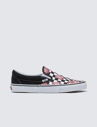 04bbe742c7d Vans Classic Slip-on Off The Wall