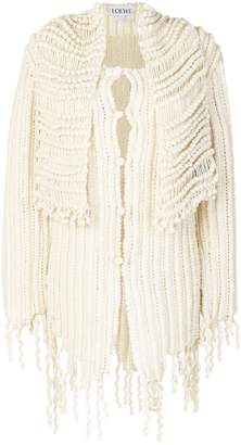 Loewe handknit crochet cardigan