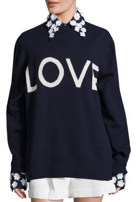 Michael Kors Collection Cashmere Love Sweater $995 thestylecure.com