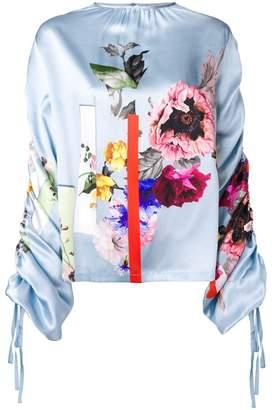 Preen by Thornton Bregazzi Willis sketchbook floral top
