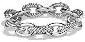 David Yurman Oval Extra-Large Link Bracelet $650 thestylecure.com