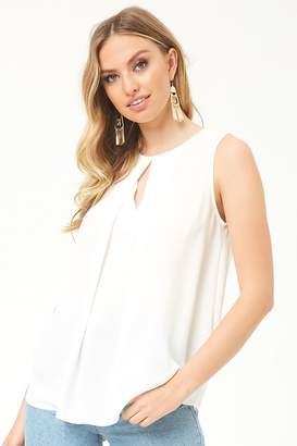 b669b9e8f32294 at Forever 21 · Forever 21 Keyhole Overlay Top