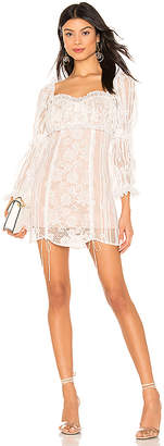 For Love & Lemons Monroe Mini Dress