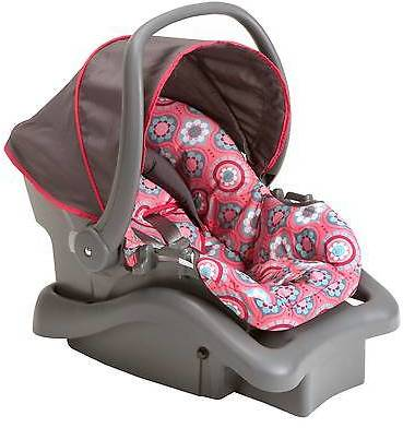 Cosco Cosco Light N Comfy DX Infant Car Seat in Posey Pop