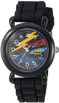 Disney Boy's 3' Quartz Plastic and Silicone Casual Watch