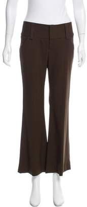 Alice + Olivia Wool Mid-Rise Pants