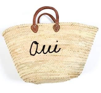 Haathi House Oui Non Straw Market Bag