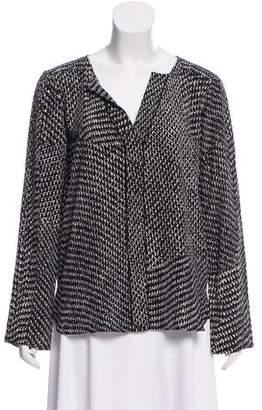 Belstaff Silk Long Sleeve Blouse
