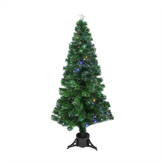 Northlight Seasonal 6-ft. Pre-Lit LED Fiber Optic Christmas Tree