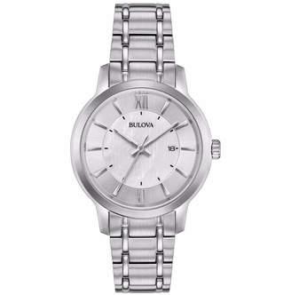 Bulova 32mm Date Watch w\/ Bracelet Strap