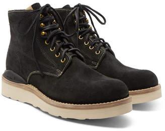 Visvim Virgil Suede Boots - Black