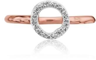 Monica Vinader Riva Diamond Mini Circle Ring