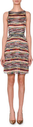 Missoni Sleeveless Striped A-Line Dress
