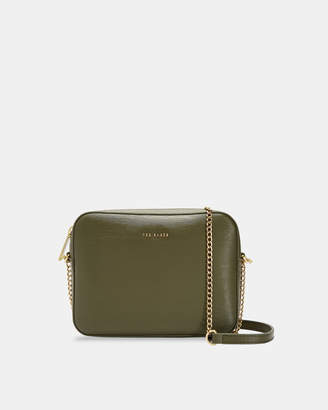 Ted Baker JULIIE Leather cross body camera bag