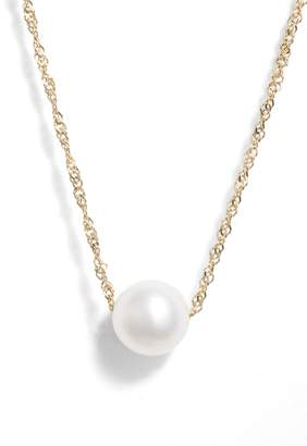 Poppy Finch Petite Pearl Necklace