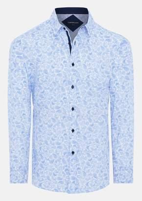 TAROCASH Sky Morrison Paisley Print Shirt
