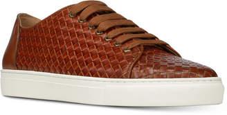 Donald J Pliner Men's Alto Woven Calf Leather Sneakers