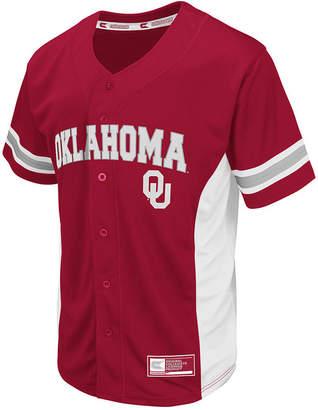 Colosseum Men's Oklahoma Sooners Strike Zone Baseball Jersey