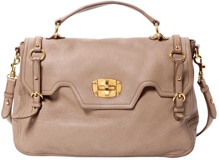 Miu MiuVitello leather crossbody bag