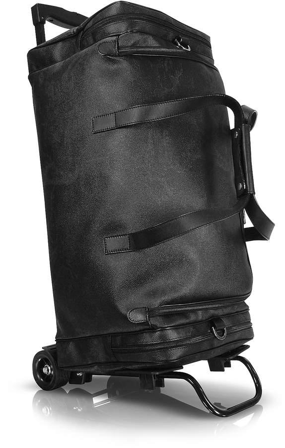 Alviero Martini 1a Classe 1a Prima Classe - Geoblack Duffel Travel Bag w/Wheels