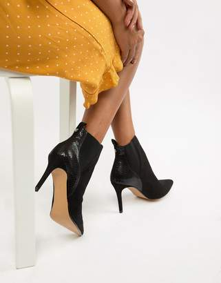 Head Over Heels Ossana Pointed Heeled Boots