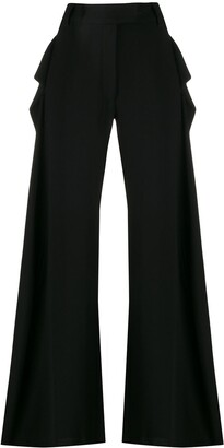 Ann Demeulemeester extra long palazzo trousers