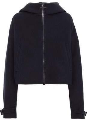 Jil Sander Brushed Wool And Cashmere-Blend Hooded Jacket
