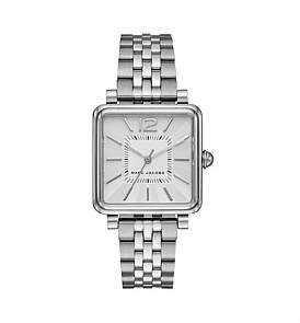 Marc Jacobs Vic Silver Watch