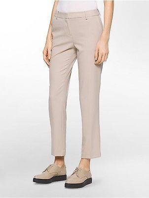 Calvin KleinCalvin Klein Womens Slim Ankle Suit Pants