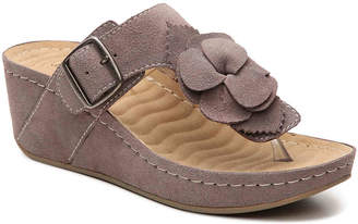 David Tate Splatter Wedge Sandal - Women's