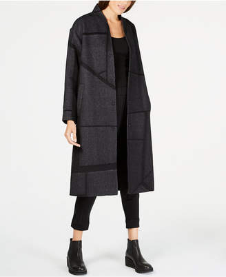 Eileen Fisher Printed Duster Jacket