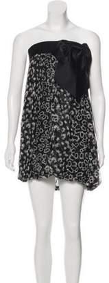 Thomas Wylde Printed Knee-Length Skirt Black Printed Knee-Length Skirt
