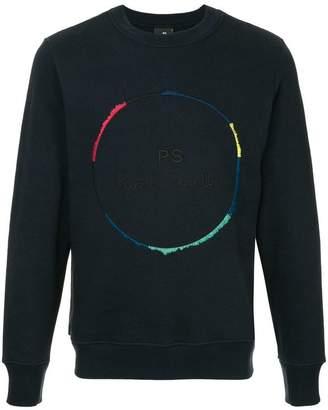 Paul Smith logo embroidered sweatshirt