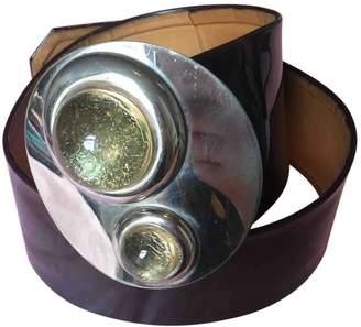 Pierre Cardin Patent leather belt