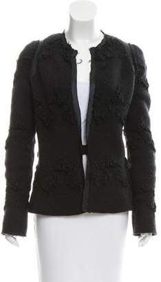 Alessandro Dell'Acqua Textured Wool Jacket