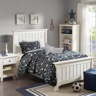 Home Essence Kids Midnight Dreams Luxurious Soft Brushed Microfiber Coverlet Set