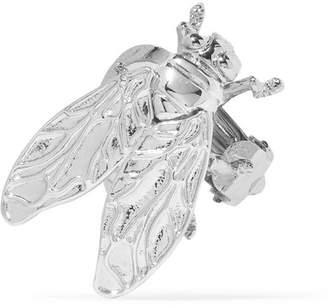 Balenciaga Silver-tone Clip Earring