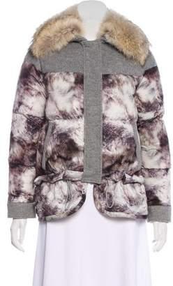 Belstaff Printed Puffer Jacket