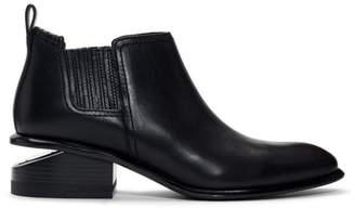 Alexander Wang Black and Silver Kori Boots