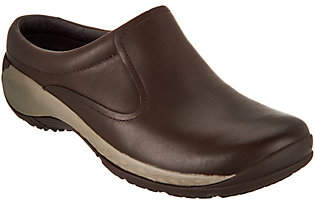 Merrell Leather Slip-On Clogs - Encore Q2