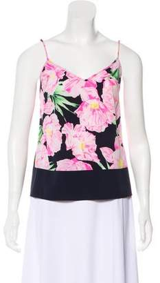 French Connection Sleeveless Print Top