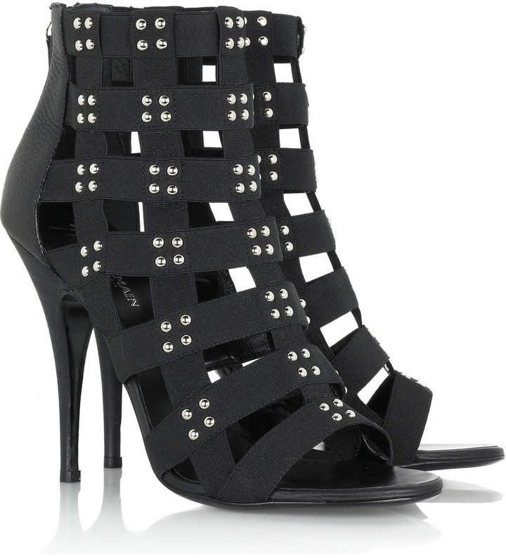 Balmain Studded strappy sandals