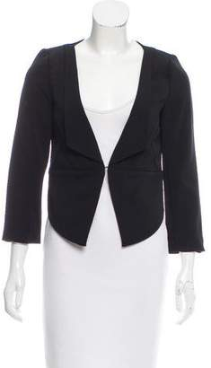 Brian Reyes Asymmetrical Long Sleeve Blazer